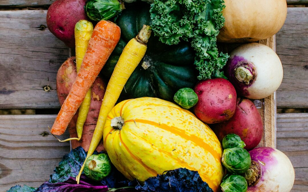 5 Fall Vegetables to add to your diet