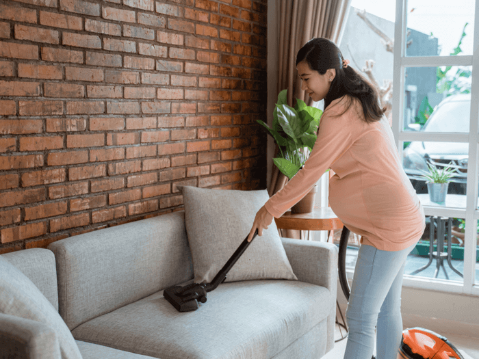 Spring Cleaning While Pregnant